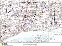 Connecticut State Map by Ct Hiking And Backpacking Trail Maps