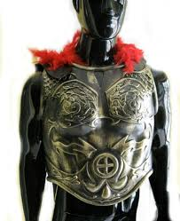 Army Soldier Halloween Costume Roman Greek Soldier Army Chest Armor U0026 Black Cape Halloween