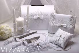 wedding gift knife set wedding set silver wedding guestbook ring pillow cake knife set