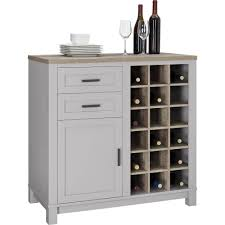 Compact Bar Cabinet Furniture Locking Liquor Cabinet With Wine Rack Walmart Glass