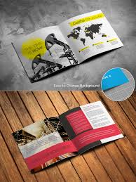 magazine brochure catalog free mockup psd template download