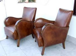 Cheap Leather Armchairs Uk Matching Pair Of Art Deco Leather Armchairs Club Chairs 1920s