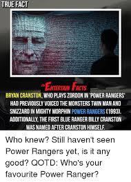 Bryan Cranston Memes - 25 best memes about zordon bryan cranston and power rangers