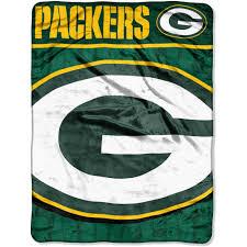 Green Throw Rug Nfl Packers 46x60 Micro Raschel Throw Walmart Com