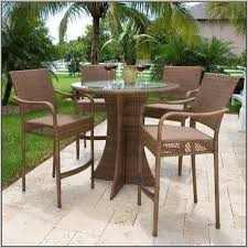High Patio Table High Top Patio Table Bistro Outdoor Furniture Nice High Top