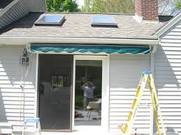 Sunsetter Awning Reviews Installing A Sunsetter Awning