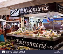cap cuisine bordeaux indoor market at cap ferret in aquitane near bordeaux on