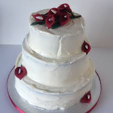 red velvet wedding cake