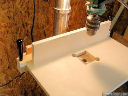 Diy Drill Press Table by How To Make A Simple Drill Press Table