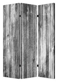 wood canvas screen gems 72 x 48 distressed wood canvas 3 panel room divider