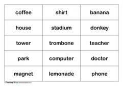 types of nouns teaching ideas