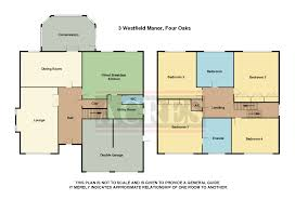Westfield London Floor Plan 4 Bedroom Detached House For Sale In Westfield Manor Four Oaks