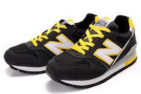 Comfortable New Balance Shoes In Bulk Classic Combination Cm996bl Men Black Yellow Grey White