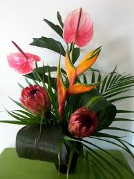 bright colors of exotic flowers bring that sunny feeling home extend your vacation with exotic flowers at home