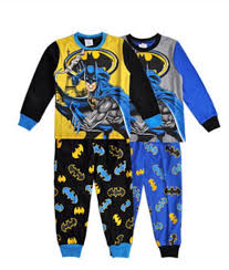 2015 pajama set batman sleeve top t shirt