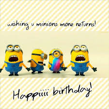 minions birthday card happy birthday cards free minions