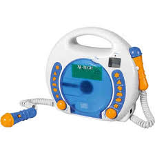 cd player für kinderzimmer kinder cd player bobby joey inkl usb mp3 und mikrofone blau