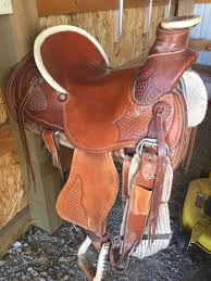 Buds Auction Barn Bud Sankey Roping High Back Ranch Saddle Rose Hill Ks Current