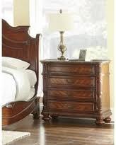 Nightstand Size Spring Savings On Lyke Home Cherry Brown Wood 2 Drawer Nightstand