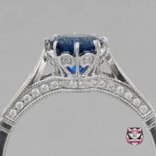 Sapphire Wedding Rings by Antique Engagement Ring Collection Antique Engagement Rings