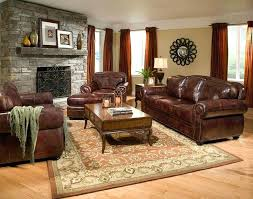 Leather Sofa Small Living Room Leather Furniture Ideas Srjccs Club