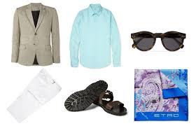 mr porter summer wedding style guide business insider