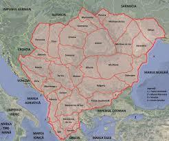Map Of Romania Io Mihailŭ împĕratul Românilor