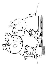 25 peppa pig coloring pages ideas