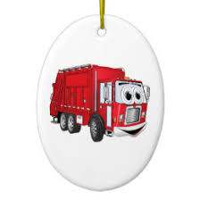 garbage truck ornaments keepsake ornaments zazzle