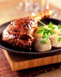 cuisiner cuisse de canard confite recette de cuisse de canard confite aux navets