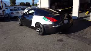 nissan 350z back bumper 350z back yard build pt 4 i think youtube
