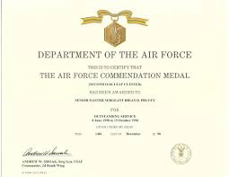 army certificate of appreciation template ppt best and various