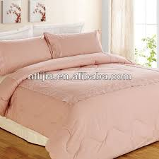 Solid Color Comforters Kosmos Home Textile Solid Comforter 100 Cotton Peach Colored