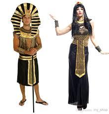 Cleopatra Halloween Costume Halloween Cosplay Costumes Cloth Egypt Prince Pharaoh Cleopatra