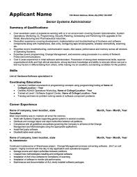 Software Engineer Resume Sample Pdf by System Administrator Resume Pdf Free Resume Example And Writing