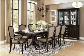 Homelegance Marston  Piece Dining Table And Chair Set Wayside - Transitional dining room chairs