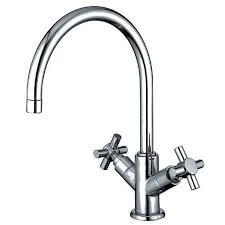 Cross Handle Faucets Gooseneck Kitchen Faucets