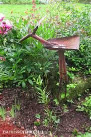 Recycled Garden Art Ideas - garden tool art animals garden art gardens and animal