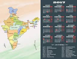 year 2017 calendar holidays in india in 2017