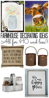 farmhouse decorating ideas under 10 the country chic cottage