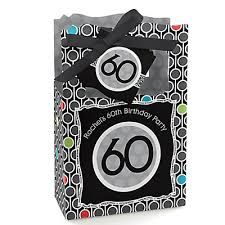 60th birthday party favors 60th birthday personalized birthday party favor boxes
