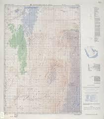 rub al khali map arabian peninsula ams topographic maps perry castañeda map