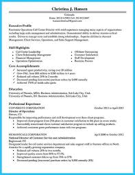 Sample Resume For Csr With No Experience by Resume For Call Center Agent No Experience 6985