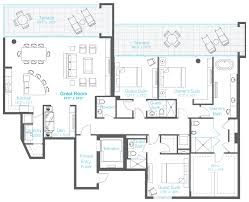 penthouse floor plans 3 bedroom luxury penthouse downtown sarasota penthouse