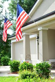 Porch Flag Five Simple Ways To Add Patriotic Decor To Your Home Slightly