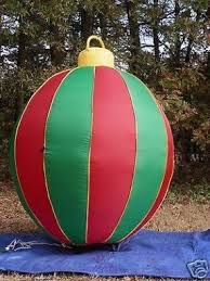 Oversized Christmas Yard Ornaments by Inflatable Christmas Ornaments Foter