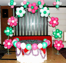 how to decorate birthday party at home balloon decoration ideas for 1st birthday party at home high