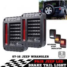 jeep jk led tail light bulb 1 pair 12v 24v led jk tail light 6 x 8 jk led tail light for je ep