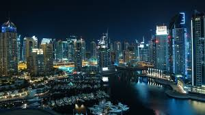 yacht in the port of a large city at wallpapers and images