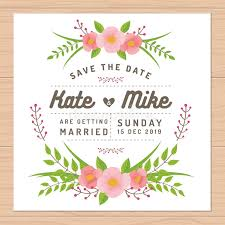 save the date templates save the date wedding invitation card with flower templates